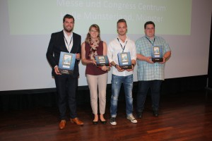 Gewinner des Nachwuchsförderpreises 2016 – Foto: Nina Dietrich/Bibliomed