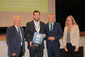 Niklas Wiechert, Gewinner des Nachwuchsförderpreises 2016 - Foto: Nina Dietrich/Bibliomed
