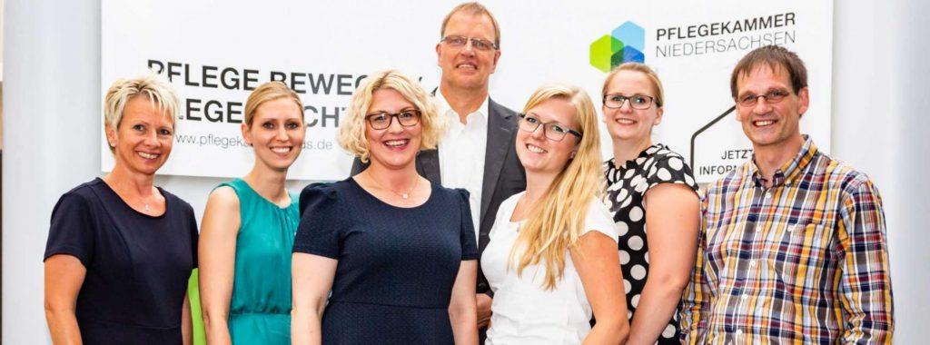 Vorstand der Pflegekammer Niedersachsen